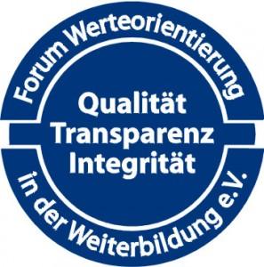 Siegel Forum Werteorientierung in der Weiterbildung e.V.