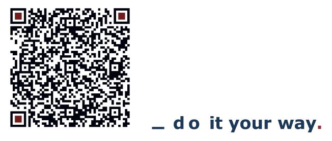 QR-Code Adresse coaching.zentrum auf Sylt
